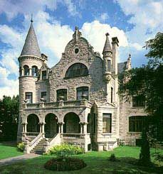 1890 House Castle (Wickwire House Castle) - Cortland, New York