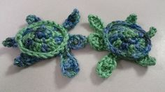 Sea Turtle Appliqué - free crochet pattern by Kristin Jacobs