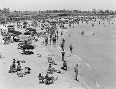 1959 ~ Asteria beach, Glyfada