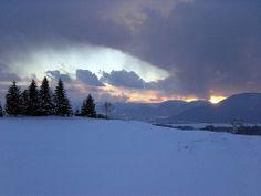 Tramonto invernale Asiago
