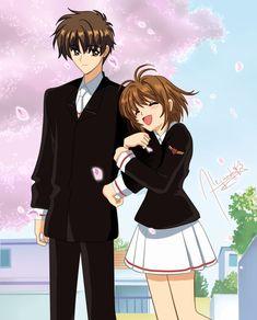 Cardcaptor Sakura - Kinomoto Sakura & Syaoran Li