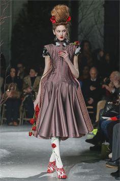 Thom Browne Fall 2013 Ready-to-Wear Collection - Vogue Ny Fashion Week, Fashion Art, Runway Fashion, High Fashion, Fashion Show, Fashion Looks, Fashion Outfits, Fashion Design, Fashion Brands