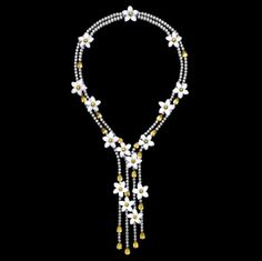 Piaget Collier Diamant Chalzedon