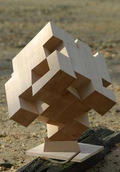 Cube sculpture