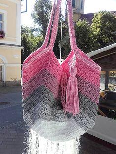 REJAdekor / Summer Bag ...OMBRÉ ružová