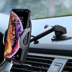 Material: ABSCharger: NoModel Number: FLOVEME 360 Rotate Adjustable Car Phone HolderHas Speaker: NoBrand Name: FlovemeCompatible Brand: UniversalUse: CarMagnetic: NoCompatible Model For iPhone XS Phone Holder StandCompatible Model For Samsung Galaxy Note Iphone Car Mount, Iphone Car Holder, Cell Phone Car Mount, Cell Phone Holder, Phone Case, Mobile Phone Sale, Mobile Phones, Mobile Holder, Magnetic Phone Holder