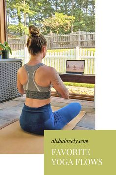 Do you ever feel overwhelmed with the online yoga options out there? There seems to be thousands of experts offering different options to satisfy any kind of yoga you can imagine. It can be hard to figure out which one is right for you. So I thought I would share my favorite 30-minute yoga flows. #onlineyoga #yoga #yogaclasses
