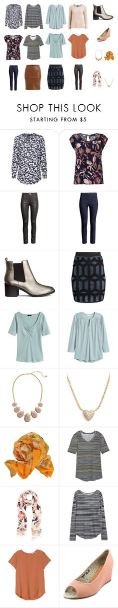"""Capesul Wardrobe spring 2016 interest"" by lone-haure-norrevang on Polyvore featuring H&M, VILA, Nadri, Hermès and The People's Movement MOVMT"