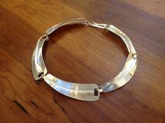 vintage Ed Weiner sterling silver necklace @abodeon