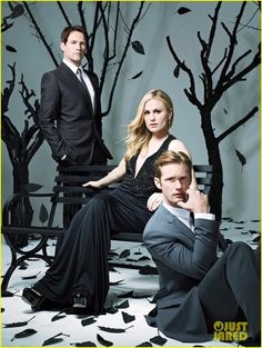 True Blood | Bill, Sookie and Eric
