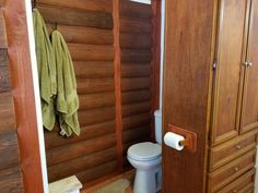 """For a couple of years, we kept a pile of siding wood that we got while we removed an old shed (you can see that project in my post called """"a shed in the wrong p… Rental Bathroom, Budget Bathroom, Bathroom Renovations, Small Bathroom, Bathroom Makeovers, Cabin Bathrooms, Bathroom Ideas, Luxury Vinyl Tile Flooring, Black White Bathrooms"""