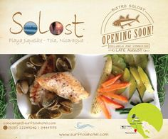 Bistro Solost Solost Hotel Nicaragua indigenous organic food wellness eclectic menu local fruit herb produce