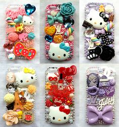 kawaii phone cases | phantasy phones makes loads of cute cases for iphones visit them here