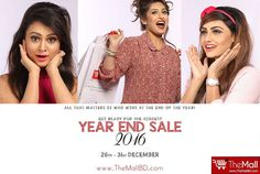GET CRAZY YEAR END SALE FOR 1 WEEK of UP TO 50% DISCOUNT THIS DECEMBER !!  Choose your desired products now and order from '26th - 31th December' only at TheMall !!  So, if you can't stop thinking about it.... BUY IT!  We will start taking orders from 26th December!  Buy Authentic products from - www.TheMallBD.com To Order Now, Call: 01977300901, 01977300902