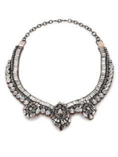 Erickson Beamon - Telepathic Crystal Marquis Long Pendant Necklace - Saks.com