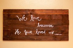 Refurbished Pallet Art by RosieAndCozy on Etsy, $45.00