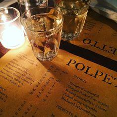 Prosecco o'clock...  #polpetto #lovelondon #londoneats #londonrestaurants #londonfoodie #thelondoncitygirl #soho #cute #rustic #ambience #love #venetian #venetianfood #menu #prosecco #foodie #dinner