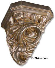 Vintage Angel Cherub Wall Sconce Candle holder Greek Bracket