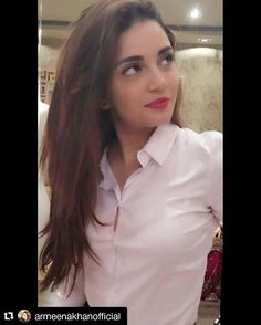 Armeena khan white