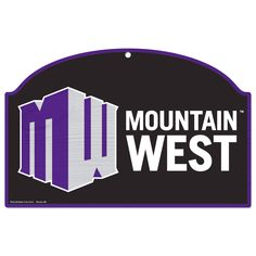 Mountain West Conference 17'' x 11'' Tier Wood Sign - $9.49