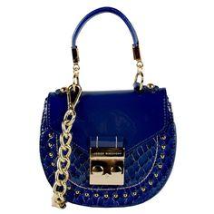 Mini bag azul