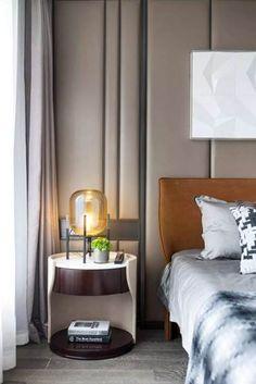 Bedroom Photos, Home Bedroom, Bedrooms, Bedroom Ideas, Night Table, Apartment Design, Contemporary, Modern, Interior Design