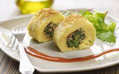 """""""Rollo De Espinacas Con Atún Y Patatas"""" en Nestlé Cocina #recetas #nestlecocina"""