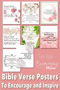 Are you tired? Allow God's word to encourage and inspire you with these FREE printable Bible verse posters and cards. Encouraging Bible Verses, Printable Bible Verses, Scripture Cards, Bible Encouragement, Bible Quotes, Printable Quotes, Bible Art, Family Scripture, Scripture Memorization
