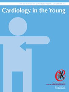 Cardiology in the Young - http://journals.cambridge.org/CTY