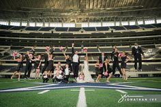 First Wedding held at Dallas Cowboys Stadium