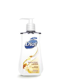 Dial Vanilla Honey With Protein-Packed Yogurt Liquid Hand Soap | Add a handful of hydration every time you wash, with this gently cleansing soap. Made with yogurt proteins, it conditions skin naturally to keep it feeling healthy as well as clean.