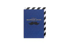 #dapperchap #postco #card #gift #boyfriend #husband #present #saltaire #radstudio   Every guy would be happy to receive this card. What a compliment!  Embossed gold foil blocking and heavyweight uncoated board from Swedish mill Munken makes it super special, for that special chap.