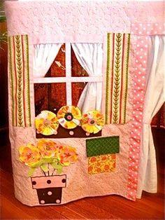 card table playhouse