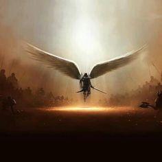 Four Horsemen to Save the World (percy jackson fan fiction)-OkamiAkuma - Wattpad - Wattpad Angels Among Us, Angels And Demons, Male Angels, Angel Warrior, I Believe In Angels, Ange Demon, Saint Michel, Guardian Angels, Angel Art