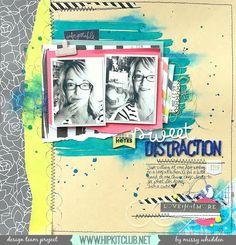 Sweet Distraction *Hip Kit Club* - Scrapbook.com