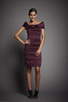 50% Off... Luis Civit, Bolero & Dress D850.S.773P, colour 080 Maroon. (size 10 & Size 18)