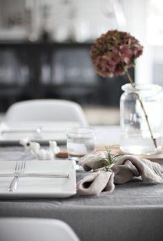 Table setting // Autumn