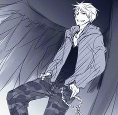 This is probably one of my favorite pictures of Prussia. He looks awesome! (As usual!)