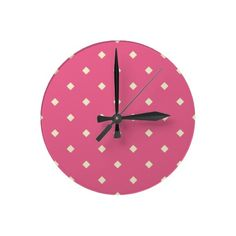 Diamonds! Diamond Kitchen Clock. Diamond shape clock.