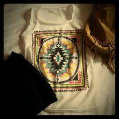 Selling this NWOT Aztec Sleeveless Top in my Poshmark closet! My username is: meghanelena. #shopmycloset #poshmark #fashion #shopping #style #forsale #Tops