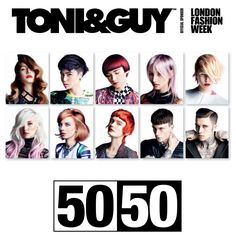 50/50 collection for 2013/2014 #toniandguy