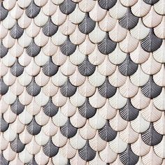 Have you seen these beauties from @cristinacelestino? They're called Plumage, a stunning collection of delicate three-dimensional ceramic and porcelain mosaic tiles in the form of bird's feathers. More on the blog - link in bio  #flodeau #designblogger #cristinacelestino #design #Attico #BottegaNove #tiles #mosaic #ceramic #walls #passioncarrelage #ihavethisthingwithwalls #mosaique #mdw2016