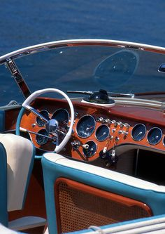 Reminds me of my grandfather's old woody. Wish we still had it around.AJ@DenisonYachtSales.com