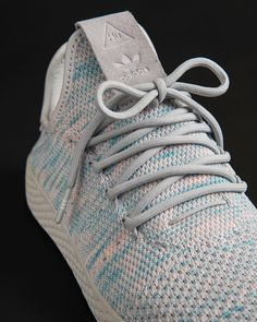 85561e2583686 Pharrell Williams x adidas Originals  TennisHU  Light Blue  now available  on StripeCenter