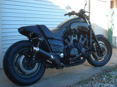 Bare Bone Rides Motorcycle Travel, Motorcycle Art, Ducati, Yamaha, Bare Bone, V Max, Bike Ideas, Black Edition, Biker Girl