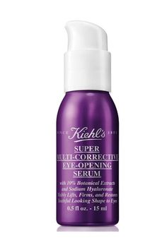 Everything You Need For A Beautiful Fall #refinery29  http://www.refinery29.com/fall-beauty#slide-13  Kiehl's new serum is a five-in-one solution, but the biggest reason you want to get your hands on it is because it actually helps to open your eyes. It also firms and lifts the delicate skin around your peepers.