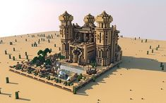 Maharaja's Villa Minecraft World Save