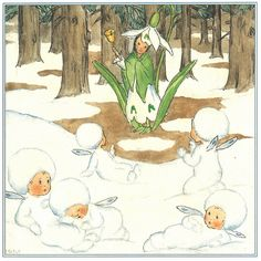 {seriously, The first flower of Spring! One of my faves!}. The Snow Drop - Hans Christian Andersen