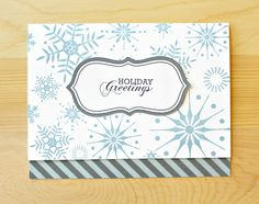 Holiday Snow Card by Carson R.