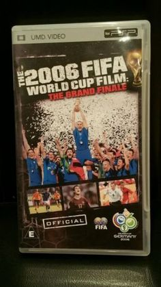 Sony psp #umd/video/game/film the 2006 fifa #world cup film the #grand finale ,  View more on the LINK: http://www.zeppy.io/product/gb/2/152016996700/